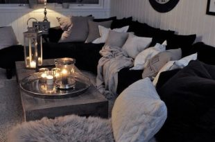Black And White Living Room Interior Design Ideas | Living room .