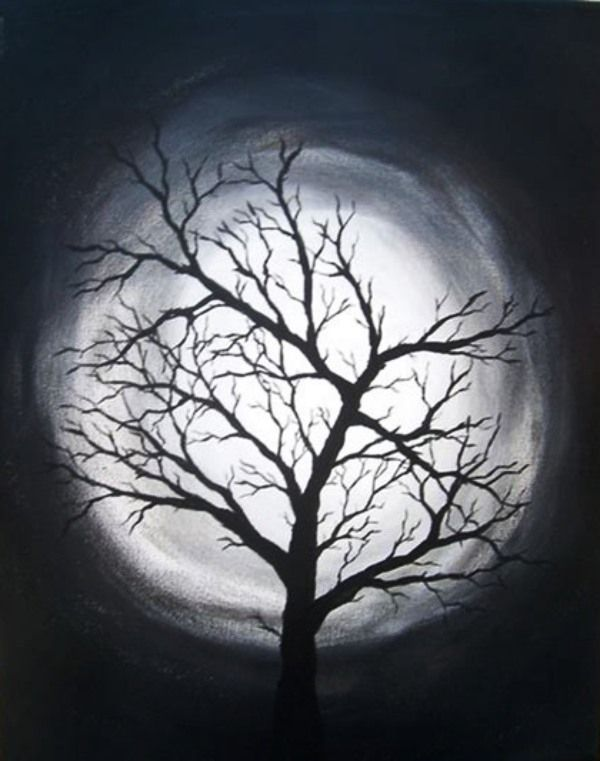 30 Creative Black And White Painting Ideas On Canvas   Black .