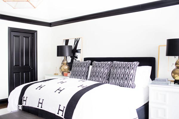 75 Stylish Black Bedroom Ideas and Photos | Shutterf