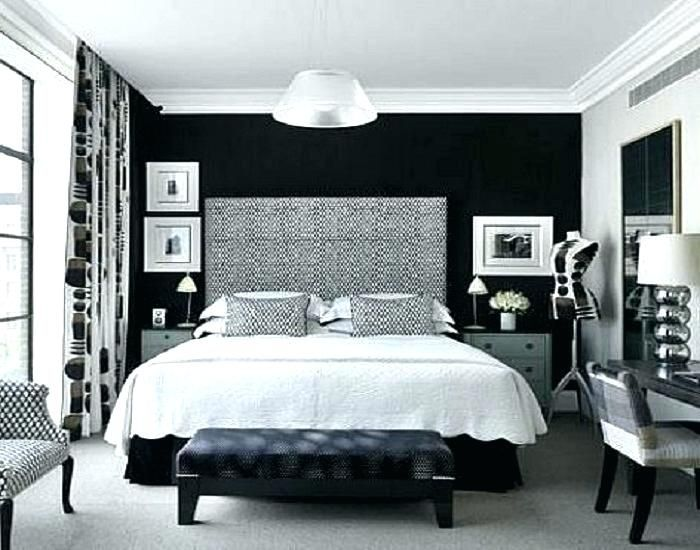 Black Bedroom Walls Black Walls Bedroom Nice Color Painting Accent .
