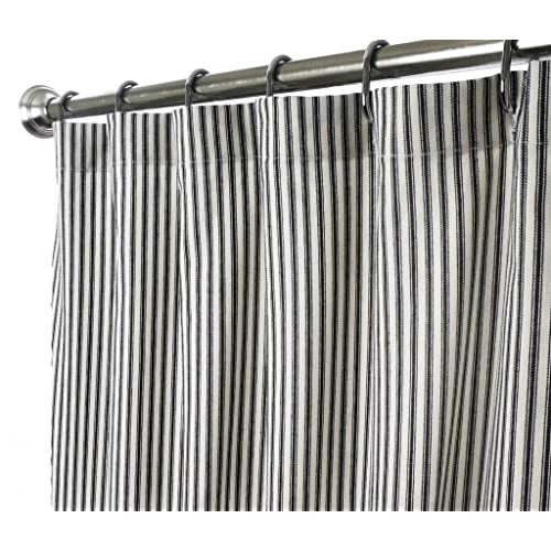 Black and White Striped Shower Curtain: Amazon.c