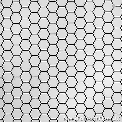 CHEAP Modern Vinyl Flooring, Black & White Hexagon Vinyl, Kitchen .