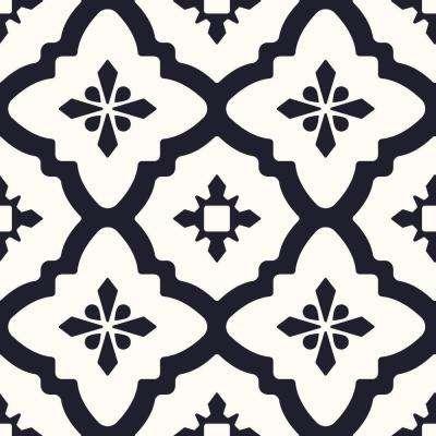 Black - Pattern - Vinyl Tile Flooring - Vinyl Flooring & Resilient .