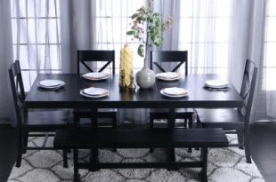 Black - Dining Room Sets - Kitchen & Dining Room Furniture - The .