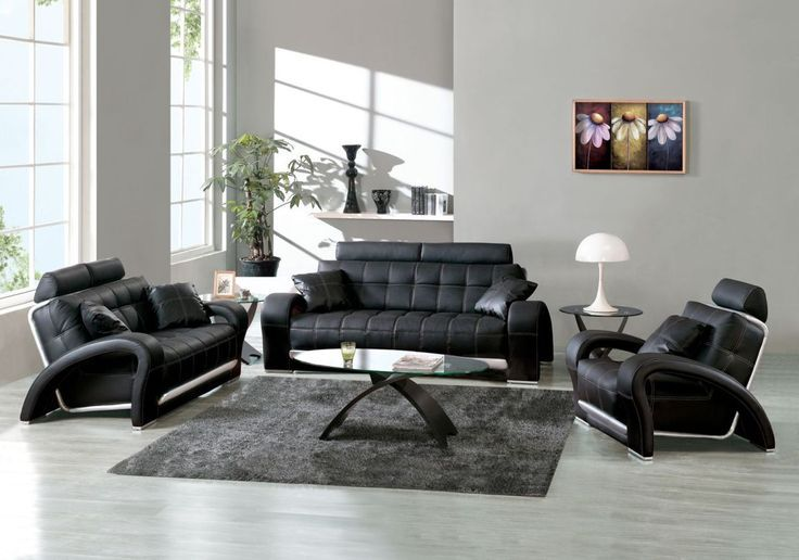 Black leather sofas for small spaces – A sign of elegance and .
