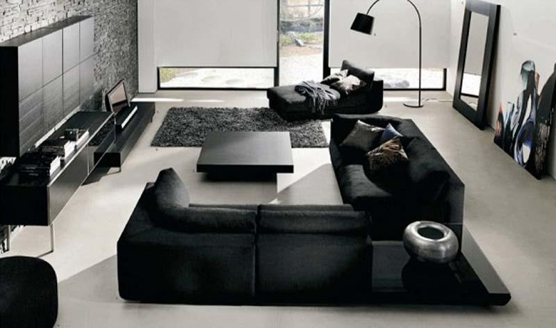 Modern Living Room Furniture Sets Design and Ideas - HomesCorner.C