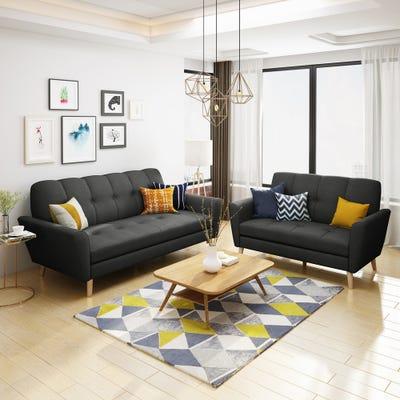 Buy Black Living Room Furniture Sets Online at Overstock | Our .