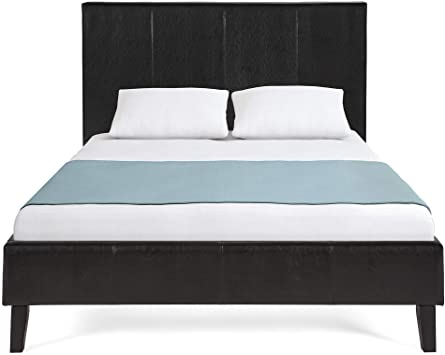 Amazon.com: Best Choice Products Modern Queen Size Faux Leather .
