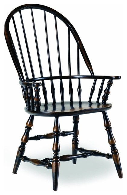 Hooker Furniture Sanctuary Windsor Chair, Set Of 2 - Traditional .
