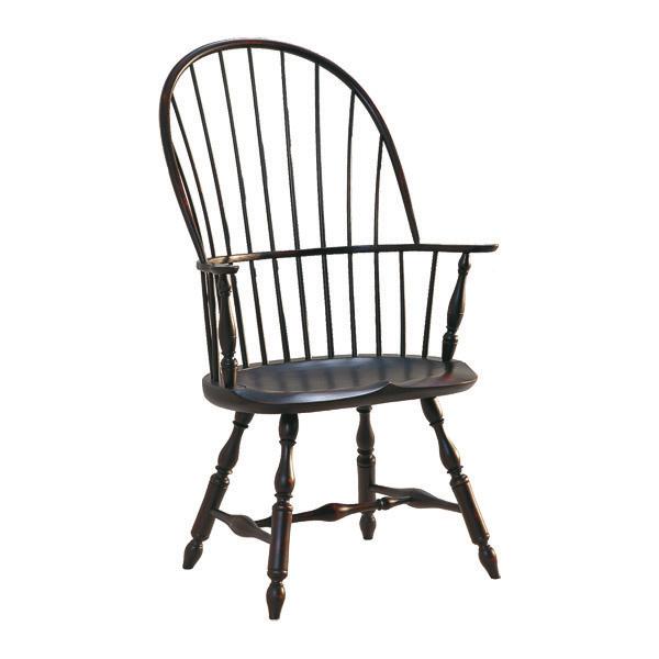 D.R.DIMES Henzey Sackback Windsor Arm Chair - Windsor Chairs .
