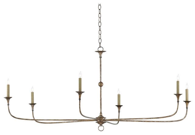 Languedoc French Country Bronze Wrought Iron Chandelier - 36D .