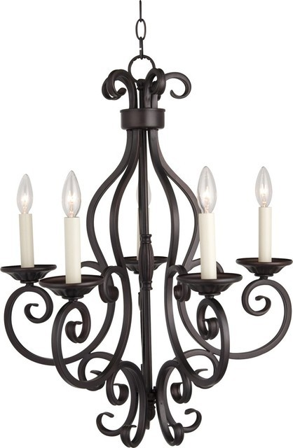 Black wrought iron chandeliers classic lig