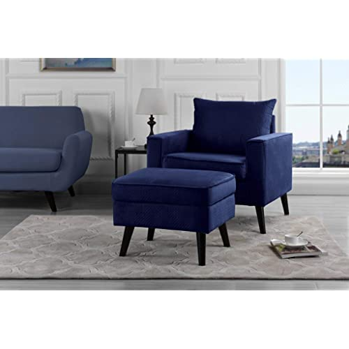 Accent Chair with Ottoman: Amazon.c