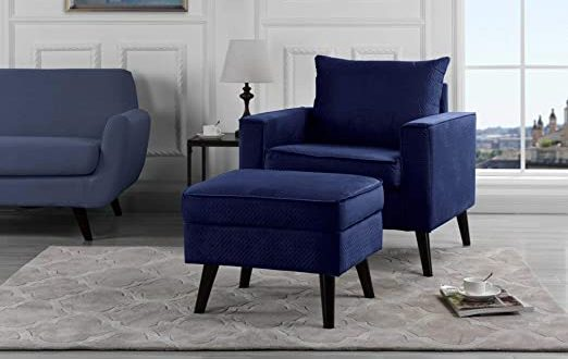 Amazon.com: Mid-Century Brush Microfiber Modern Living Room Large .
