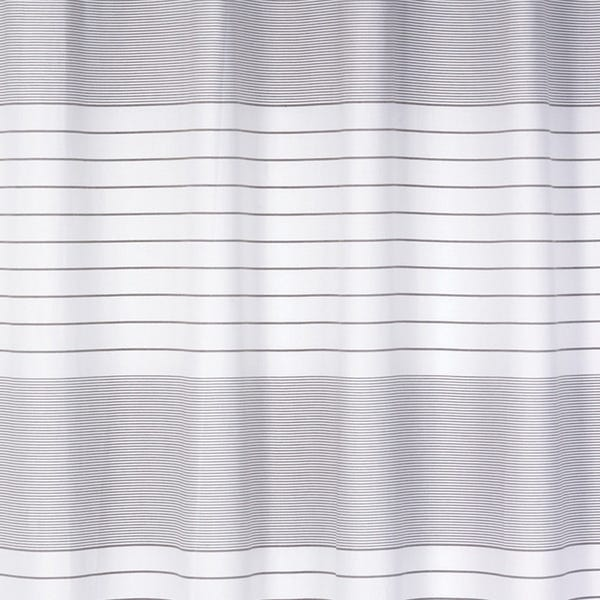 "Shop Pacey 100% Cotton Striped Shower Curtain 70""x72"" (Blue) - On ."