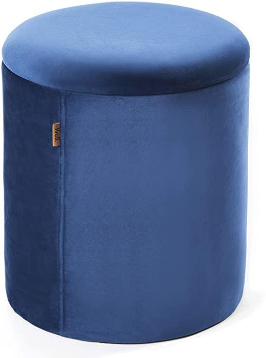 Amazon.com: Kvell Boto Storage Ottoman, Loyal Blue: Home & Kitch