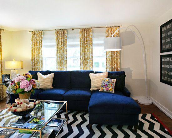 Blue Sofas For Living Room Ideas