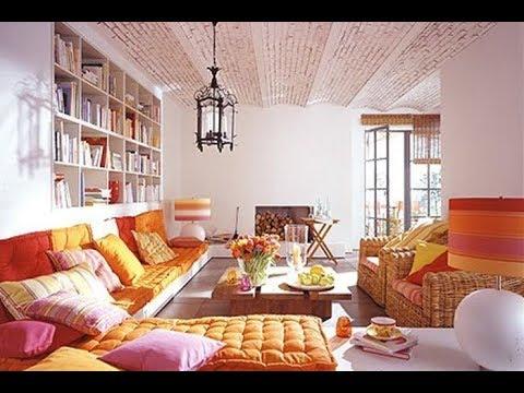 Bohemian Style Living Room Decorating Ideas   Boho Chic Interior .