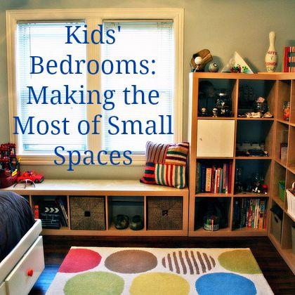 Children's Bedrooms in Small Spaces: Top Tips | Kids room .