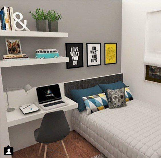Awesome 31 Bedroom Ideas For Teenage Guys With Small Rooms | Boy .