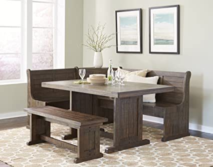 Amazon.com: Homestead Sunny Designs Breakfast Nook with Side Bench .