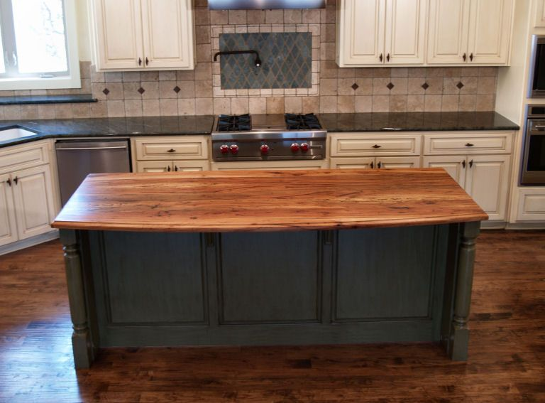 Spalted Pecan - Custom Wood Countertops, Butcher Block Countertops .