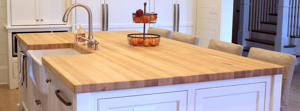 Maple Butcher Block Island Tops | MyCoffeepot.O
