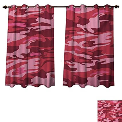 Amazon.com: Camo Blackout Curtains Panels for Bedroom Camouflage .