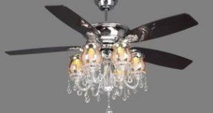 Crystal Ceiling Fan Light Kit - Ideas on Fot