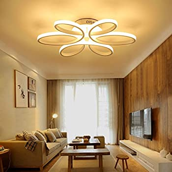 LED Ceiling Light Dimmable Chandelier Living Room Kitchen with .