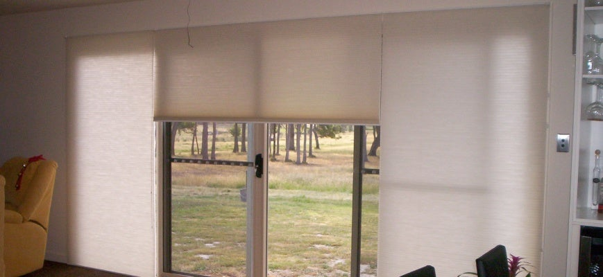 Panel Blinds For Sliding Glass Doors- Guide To Dress Your Patio Doo