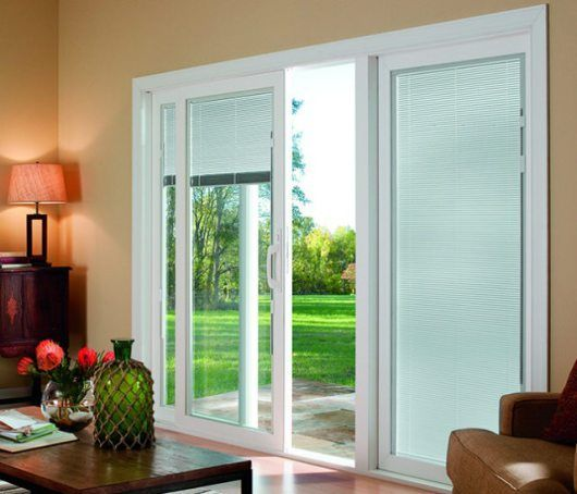 Sliding glass door blinds with cellular shades for sliding glass .