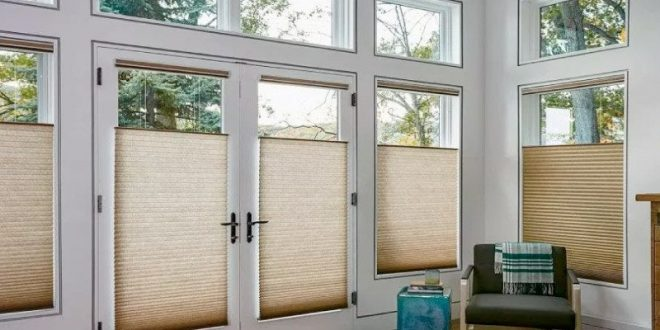 Cellular Shades for Sliding Glass Doors: Centre of Attraction .