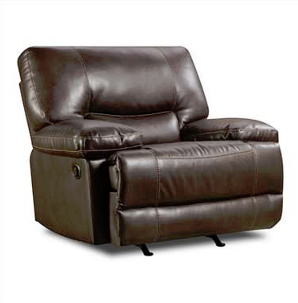 America Furniture AF8509 Roman Chocolate Chair And A Half Rocker .