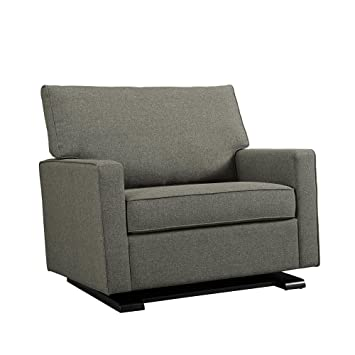 Amazon.com: Baby Relax Coco Chair and a Half Glider, Gray: Ba