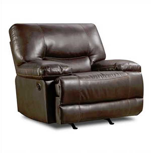 America Furniture PAF8509 Roman Chocolate Power Rocker Recliner .