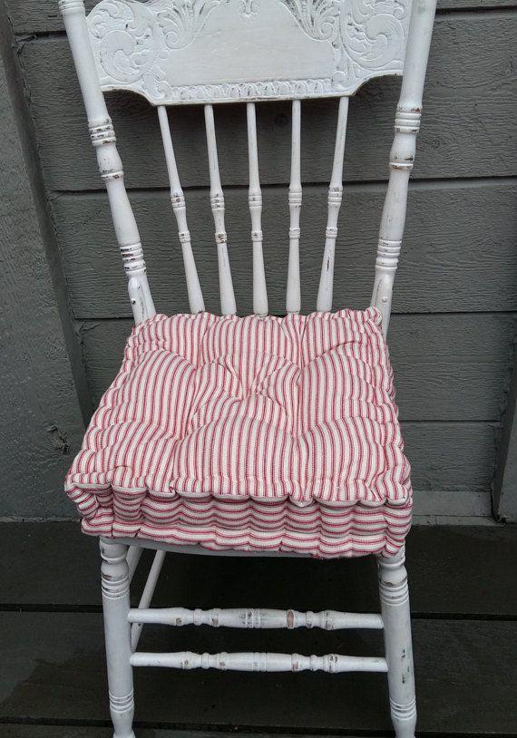 Farmhouse Chair Cushion French Mattress Cushions Farmhouse .