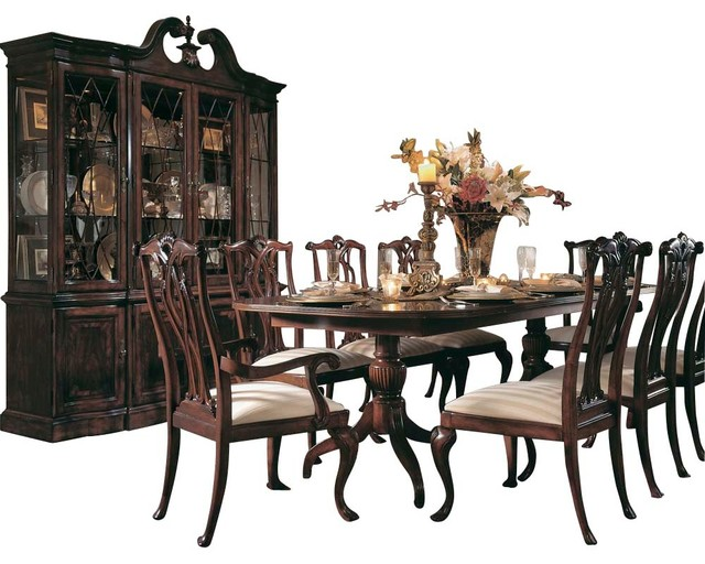 American Drew Cherry Grove 8-Piece Dining Room Set, Antique Cherry .