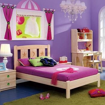 Bedroom Furniture Children Bed,Modern Wood Kids Single Bed - Buy .
