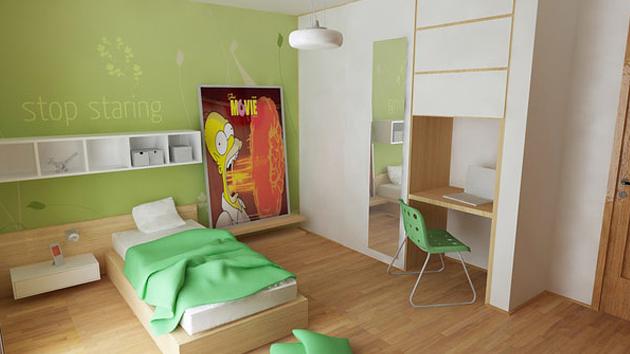 20 Vibrant and Lively Kids Bedroom Designs | Home Design Lov