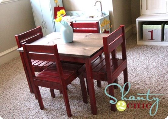Children's Play Table and Chairs | Kids table, chairs, Toddler .
