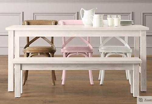 Child Size Play Tables, Chairs - Modern, Tradition