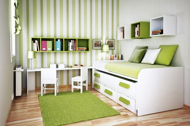Compact Furniture For a Small Sized Kids Ro