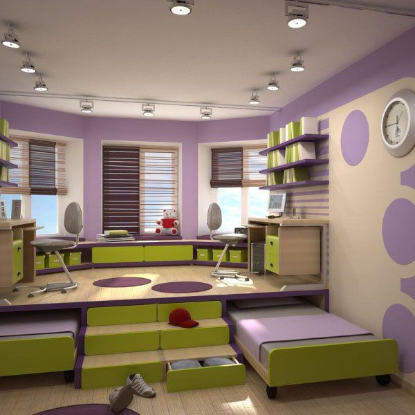 6 Space Saving Furniture Ideas for Small Kids Room | Kids bedroom .