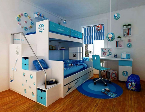 A fun filled and cool simple kids room design for boys | Kids room .