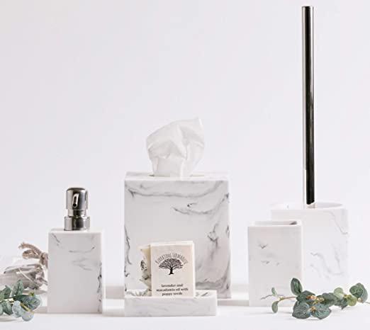 Amazon.com: Kurrajong Farmhouse Elegant 5 Piece Bathroom .