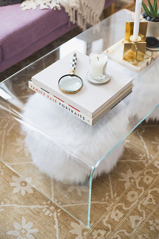 All The Reasons Why You Need A Clear Coffee Table | Clear coffee .