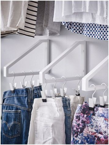 10 Small Closet Organization Ideas | Closet hacks, Small closets .