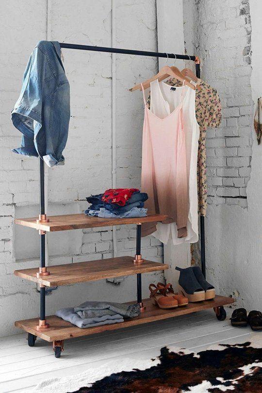 26 Clothes Racks For Homes With No Closet Spa