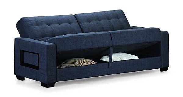 Comfortable Loveseat Sofa Bed With Storage | Sofa | Sofa bed with .